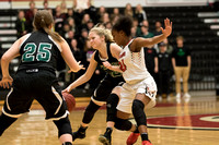 Maranatha vs Holy Family Girls' Basketball; Section 5AA Final