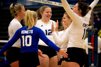 K-M Komets vs Eastview Lightning Volleyball