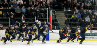 Class 1A, Section 4 semifinals Totino-Grace vs. Mahtomedi 2/24/2016 Photos by Mark Hvidsten