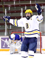 Breck vs. St. Michael-Albertville Schwan Cup Silver final 12/31/16 Photos by Cheryl Myers