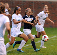 Orono girls vs. Blake 8/28/2014 Photos by Loren Nelson