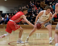 Boys' Basketbal: Apple Valley at Lakeville North